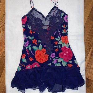 Victoria Secret Floral Babydoll Lingerie